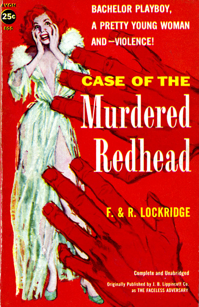 Case Of The Murdered Redhead by Frances & Richard Lockridge