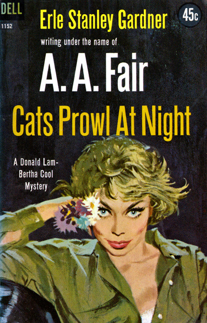 Cats Prowl At Night by AA Fair