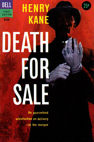 Death For Sale by Henry Kane