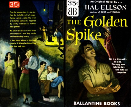 The Golden Spike by Hal Ellson