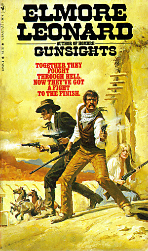Gunsights by Elmore Leonard (Bantam 12888-4)