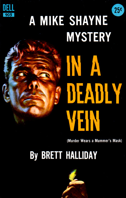 In A Deadly Vein by Brett Halliday