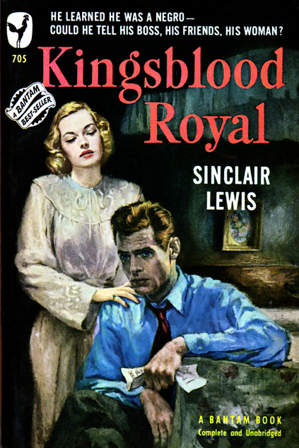 Kingsblood Royal by Sinclair Lewis (2nd printing)