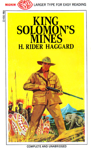 King Solomon's Mines by H Rider Haggard