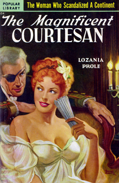 The Magnificent Courtesan by Lozania Prole
