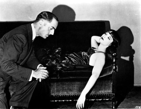 William Powell & Louise Brooks in The Canary Murder Case.