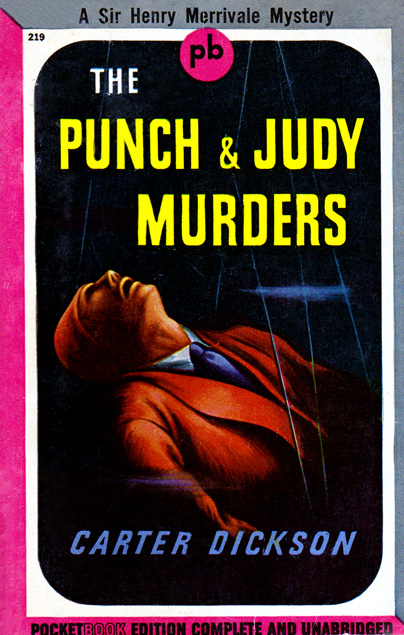 The Punch & Judy Murders by Carter Dickson