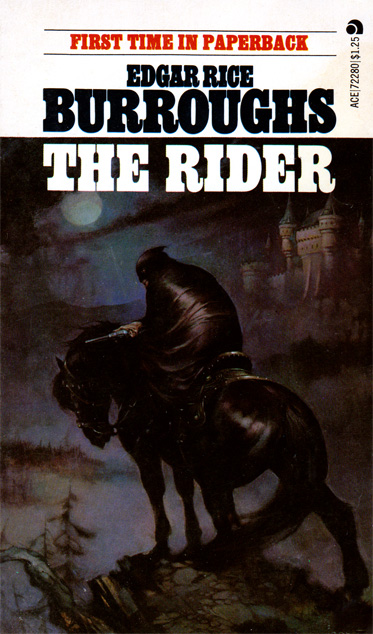 The Rider by Edgar Rice Burroughs (Ace 72280 - 1974); Frank Frazetta cover art