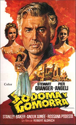 Sodom And Gomorrah movie poster (Spain)