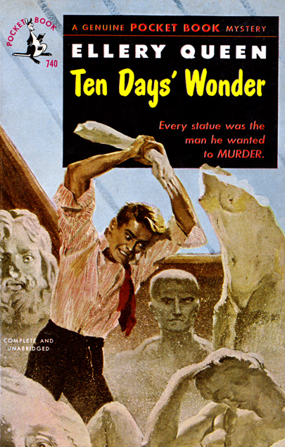 Ten Days' Wonder by Ellery Queen