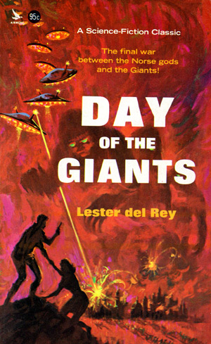 Day Of The Giants by Lester del Rey (Airmont SF5 - 1976)
