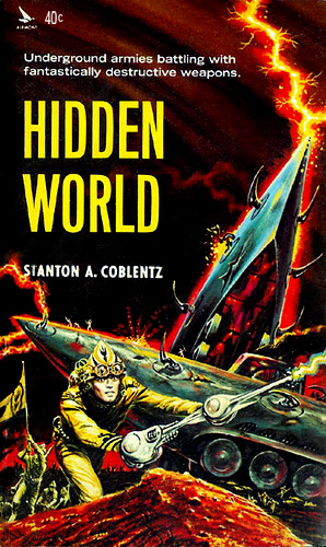 Hidden World by Stanton A Coblentz (Airmont SF6 - 1964)