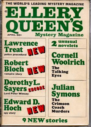 Ellery Queen Mystery Magazine 4/67