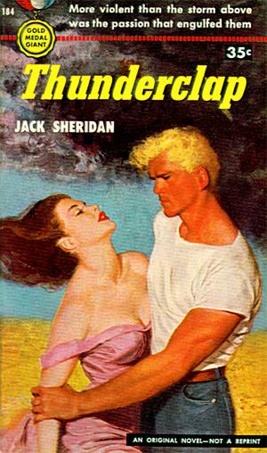 Thunderclap by Jack Sheridan (Gold Medal 184 - 1951)