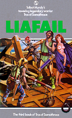 Liafail by Talbot Mundy; Chris Achilleos cover