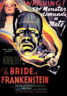 The Bride Of Frankenstein movie poster
