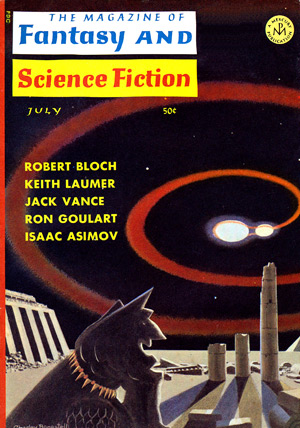The Magazine Of Fantasy & Science Fiction, 7/66