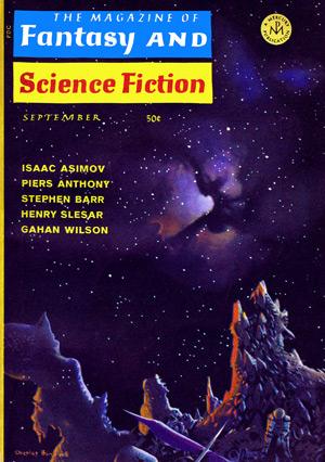 The Magazine Of Fantasy & Science Fiction, 9/68