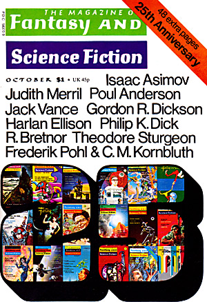 The Magazine Of Fantasy & Science Fiction, 10/74