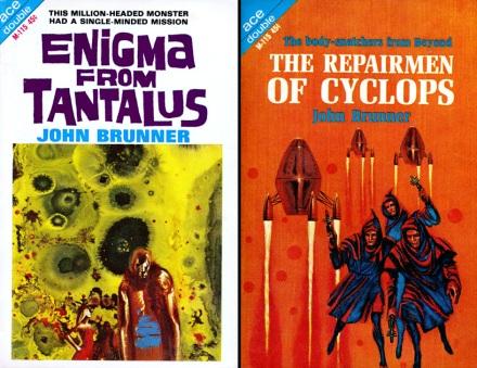 Enigma From Tantalus / The Repairmen Of Cyclops by John Brunner