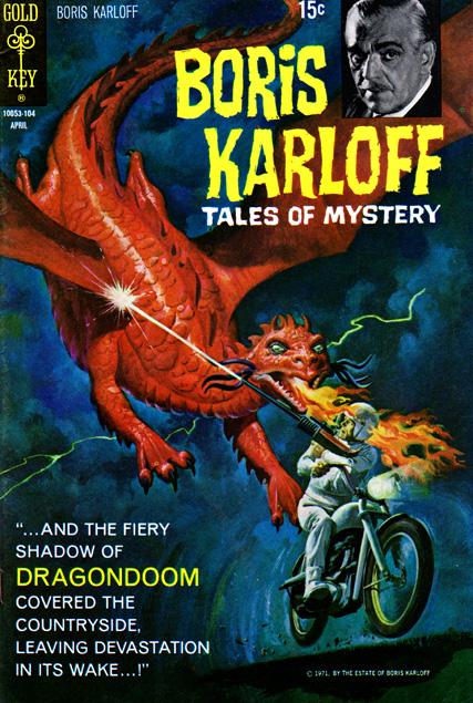 Boris Karloff Tales Of Mystery #34, 4/71
