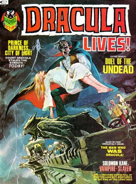Dracula Lives! #3, 10/73