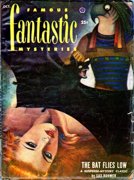 Famous Fantastic Mysteries Vol 13 #6, Oct/1952