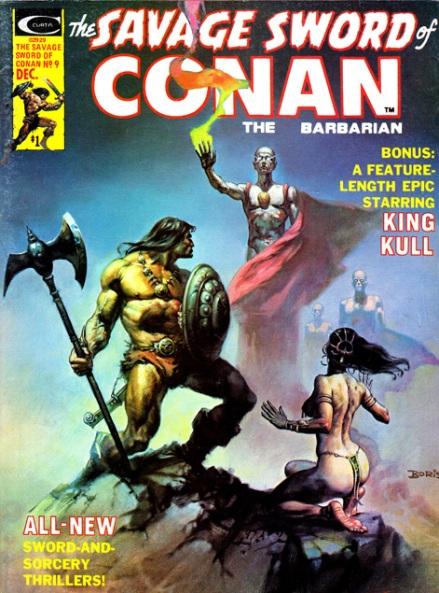 The Savage Sword Of Conan Vol 1 #9, 12/75