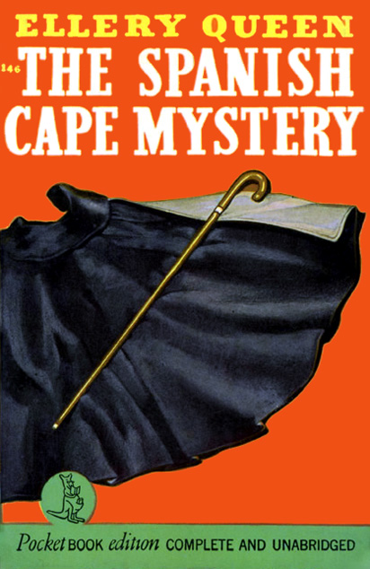 The Spanish Cape Mystery by Ellery Queen (Pocket 146 - 1942)