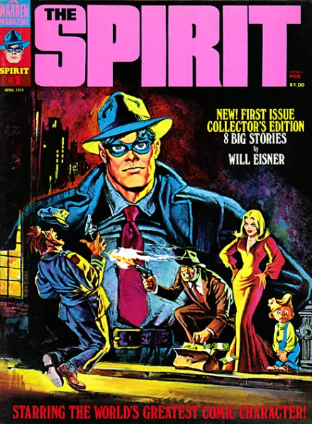 The Spirit #1, April/1974