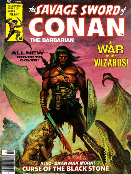 The Savage Sword Of Conan Vol 1 #17, 2/77