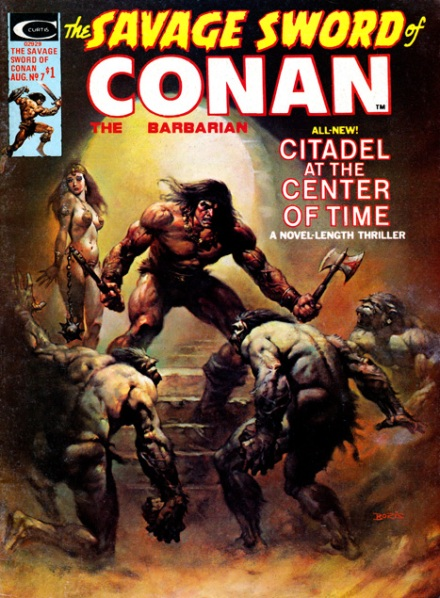 The Savage Sword Of Conan Vol 1 #7, 8/75