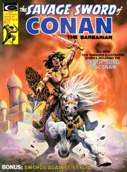 The Savage Sword Of Conan Vol 1 #8, 10/75