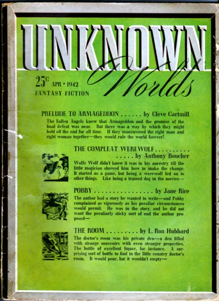 Unknown Worlds Vol 5 #6, April/1942