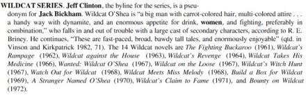 Wildcat O'Shea