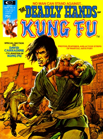 The Deadly Hands Of Kung Fu #4, 9/1974