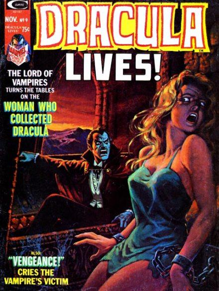 Dracula Lives! #9, 11/1974