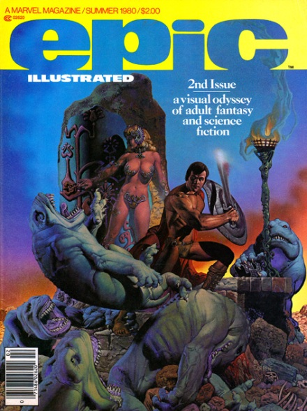Epic Illustrated #2, Summer/1980