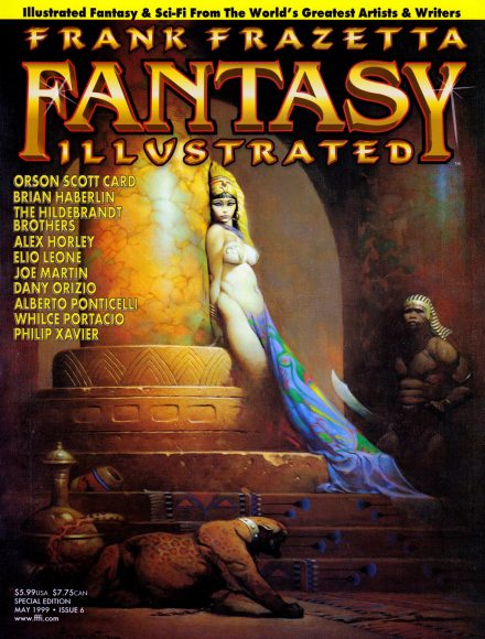 Frank Frazetta Fantasy Illustrated #6, May/1999