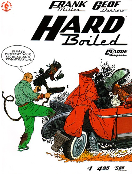 Hard Boiled #1, September/1990