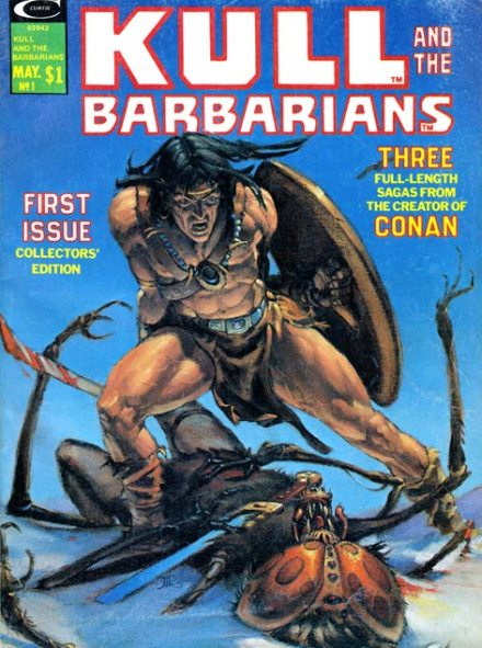 Kull And The Barbarians #1, May/1975