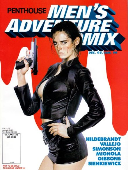Men's Adventure Comix #5, 12/95-1/96