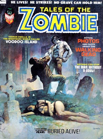 Tales Of The Zombie #2, 10/1973