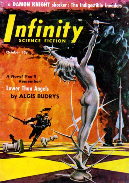 Infinity Science Fiction, 10/56